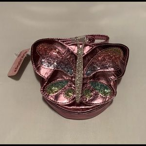 New small purse from Claire's butterfly